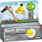 ANGRY BIRDS KNEX YELLOW BIRD VS PIG T72043 PAK.4